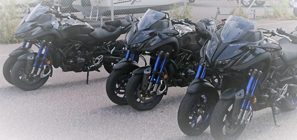 Yamaha Niken, erilainen moottoripyörä. Nimenomaan moottoripyörä.