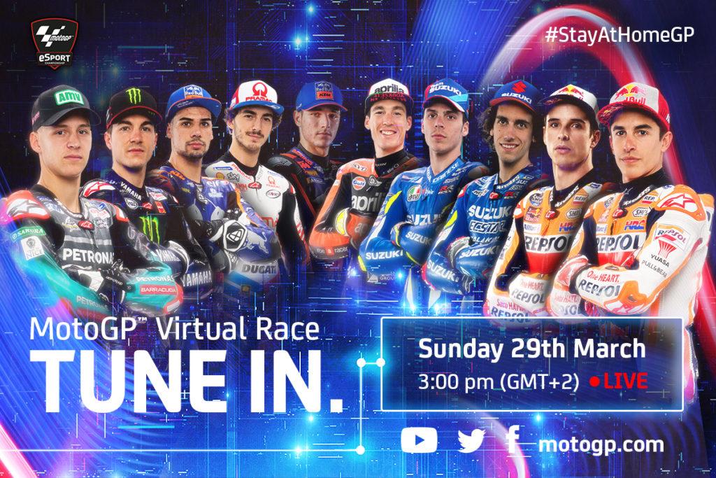 MotoGP™ Virtual Race: kaikki mitä sinun tulee tietää