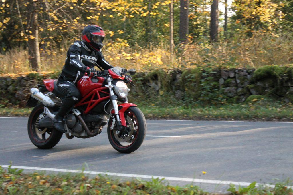 Moottoripyöräily, se mukava harrastus