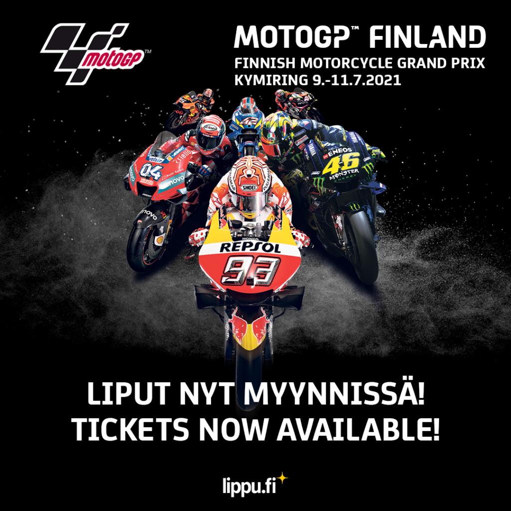Suomen MotoGP lippujen myynti alkaa porrastetusti