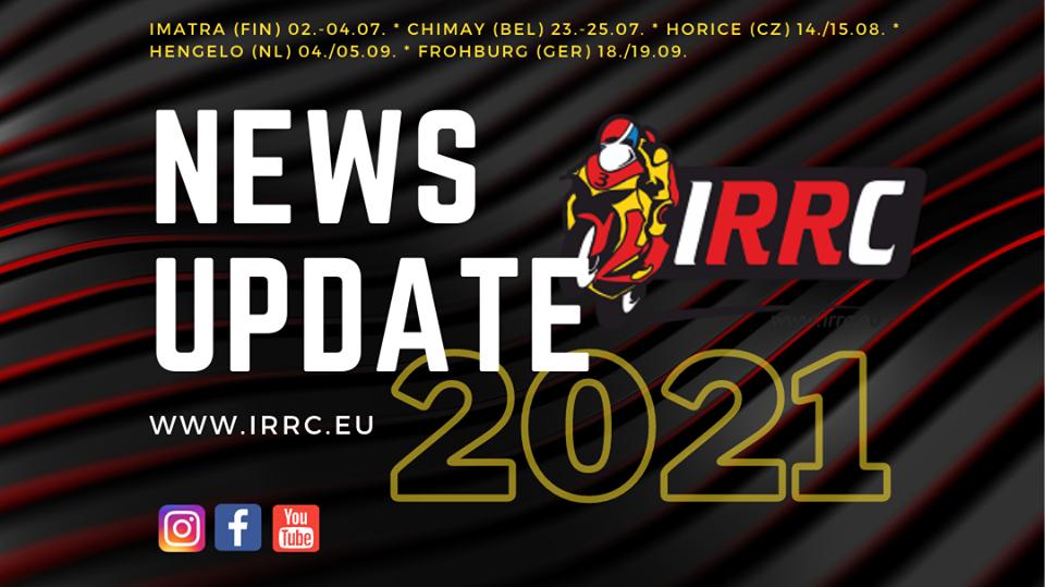 IRRC sarjan avaus Imatralla 2.-4.7.2021