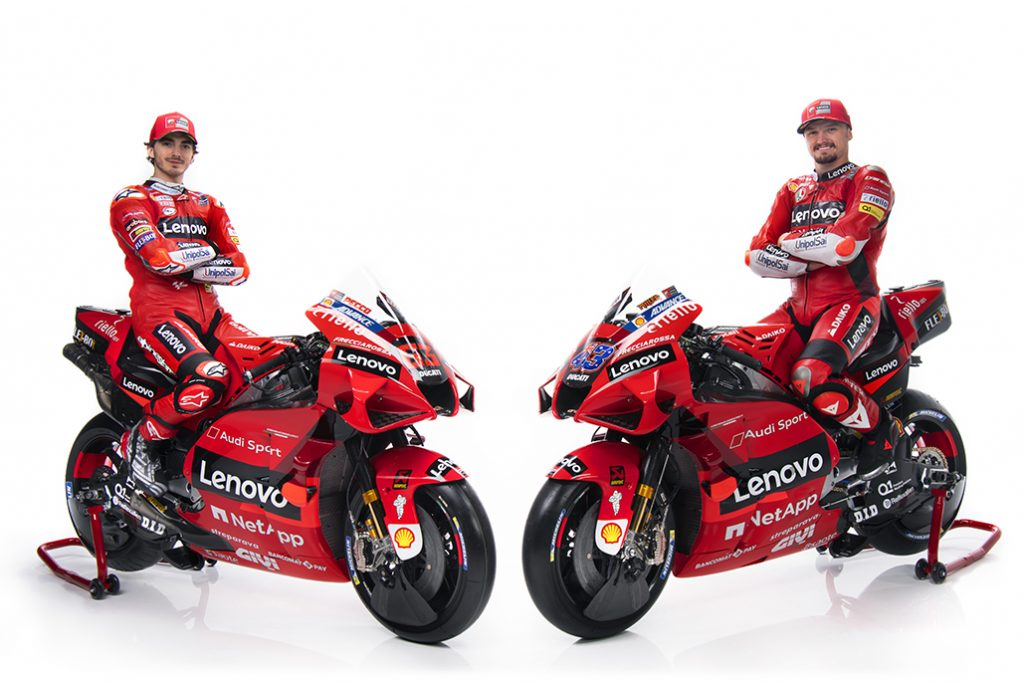 Ducati MotoGP 2021 Teamin esittelyvideo