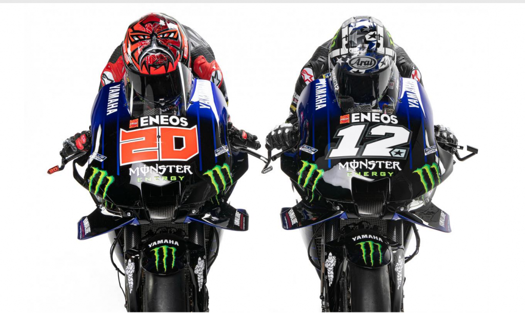 Monster Energy Yamaha MotoGP 2021 esittely video