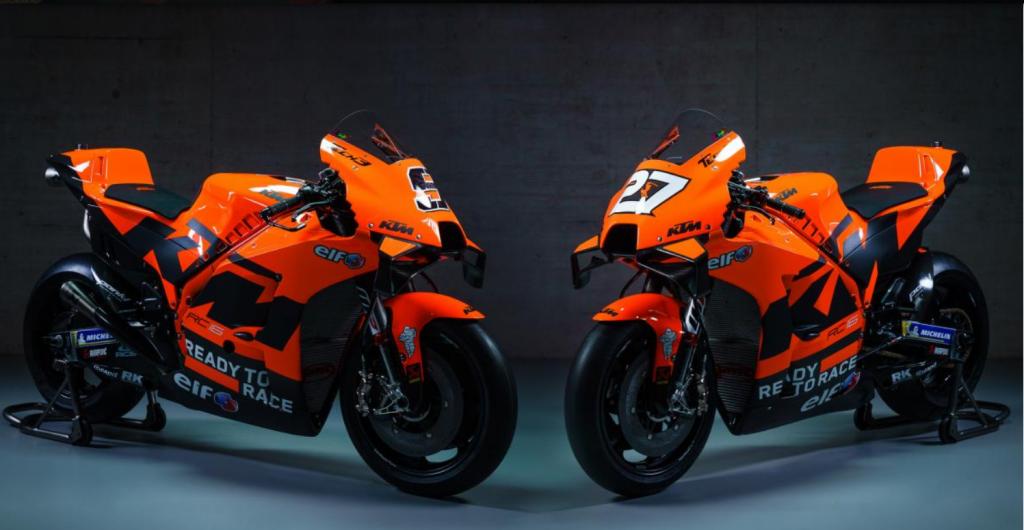 KTM Factory Racing MotoGP Tiimin 2021 videoesittely