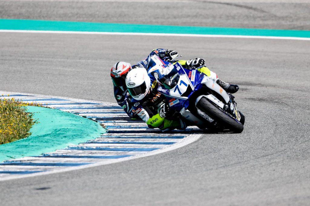 RAM Racing Yamahan kausi alkoi 10-11.4 Espanjan Jerezissä ESBK merkeissä